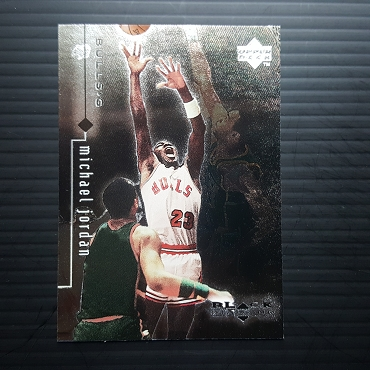 1999 Upper Deck BLACK DIAMOND #2 MICHAEL JORDAN