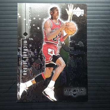 1999 Upper Deck BLACK DIAMOND #6 MICHAEL JORDAN