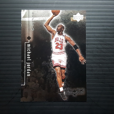 1999 Upper Deck BLACK DIAMOND #8 MICHAEL JORDAN