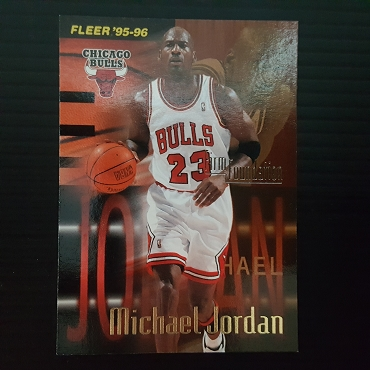 1995 Fleer Michael Jordan Firm Foundation #323 Insert NM MT