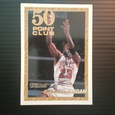 1993 Topps Gold Parallel Michael Jordan Insert #64 NM MT