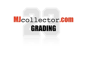 MJcollector.com GRADING Grading/Authentication Standard Size (2 1/2